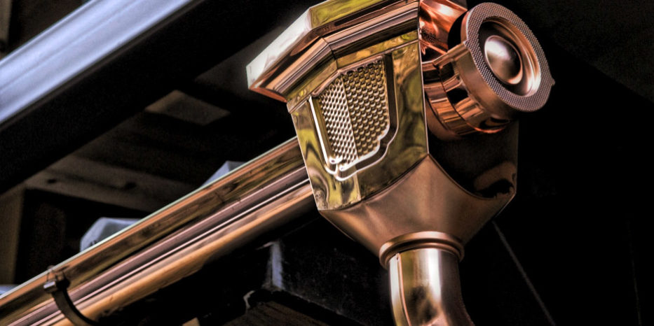 How To Keep Copper Gutters Shiny